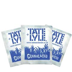 Tate And Lyle Tate & Lyle White Granulated Sugar Sachets (Pack of 1000) Image
