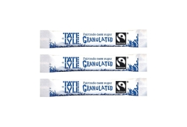 Tate And Lyle Tate & Lyle Fairtrade Granulated Cane White Sugar Sticks (Pack of 1000)