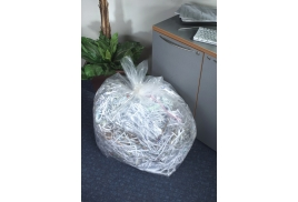 5 Star Facilities (175 Litre) Bin Liners Heavy Duty W510 x D340 x H1170 mm 38 Micron Clear (Pack of 100)