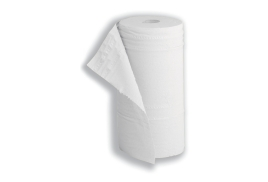 5 Star Facilities (40m) Hygiene Roll 10 inch Width 50% Recycled 2-Ply 130 Sheets (White)