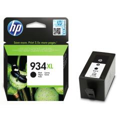 HP 934XL (Yield: 1,000 Pages) Black Ink Cartridge Image