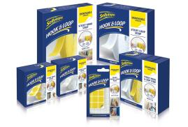 Sellotape (20 x 20mm) Removable Sticky Hook-and-Loop Pads (Pack of 24)