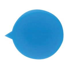 Unbranded Security Seals Plain Round (Blue) Pack of 500 Image