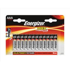 Energizer Max (AAA) Alkaline Batteries (Pack of 12 Batteries) Image