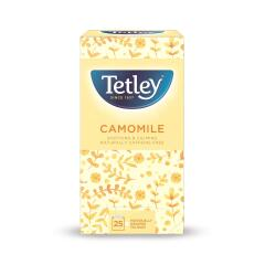 Tetley Camomile Smile Tea Bags Individually Wrapped (Pack of 25) Image
