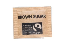 Fairtrade Brown Sugar Sachets (Pack of 1000)