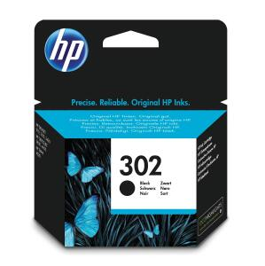 HP 302 (Yield: 190 Pages) Black Ink Cartridge