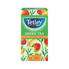 Tetley Tea Bags Green Tea with Mango (Pack of 25 Tea Bags] Image