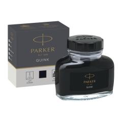 Parker Quink (57ml) Bottled Ink (Black) for Fountain Pens Image
