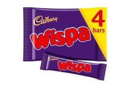 Cadbury Wispa (30.5g) Chocolate Bar (Pack of 4 Bars)