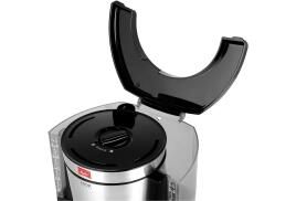 Melitta LOOK Therm Timer Coffee Machine (Black/Stainless Steel)