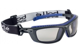Bolle Safety Bolle Baxter BAXCSP Safety Glasses (CSP Coating) with Platinum Coating