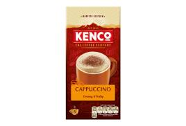 Kenco Cappuccino Instant Sachet (Pack of 8)