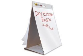 Post-It Post-it Table Top Meeting Chart and Dry Erase Board (20 Sheets)