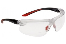 Bolle Safety Bolle IRI-s IRIDPSI2 Safety Glasses (Clear) with Reading Area +2