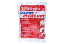 Rapid Aid Rapid Relief (4 x 6 inch) Small Instant Hot Pack
