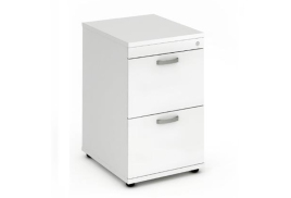Trexus (500mm) Filing Cabinet (White)