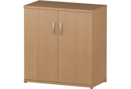 Trexus (80 x 40 x 80cm) Cupboard with 1 Shelf (Oak)
