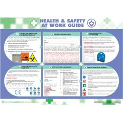 Wallace Cameron Health and Safety At Work Poster Laminated Wall-mountable (590 x 420mm) Image