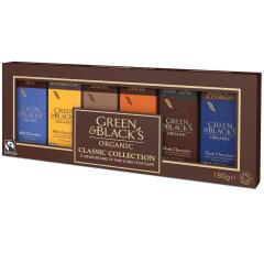 Green and Blacks Organic Milk/Dark Chocolate Miniatures Collection 15g Bars (1 x Pack of 12) Image