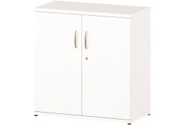 Trexus (800mm) Office Cupboard 1 Shelf (White)