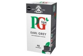 PG Tips Tea Bags Earl Grey Enveloped (Pack of 25 Tea Bags)