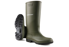 Dunlop Pricemaster (Size 10.5) Wellington Boots (Olive Green)