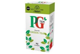 PG Tips Tea Bags Green Tea Enveloped (Pack of 25 Tea Bags)