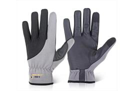 MECDEX TOUCH UTILITY UT-612 (Size: S) Protective Gloves (Black/Grey)