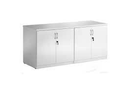 Trexus Hi-Gloss Credenza Surface Top (White)