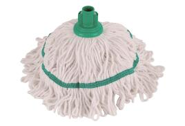 Robert Scott and Sons Robert Scott Hygiemix T1 (250g) Socket Mop Head Cotton and Synthetic Yarn Colour-coded (Green)
