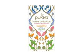 Pukka Herbs Pukka Individually Enveloped Tea Bags Herbal Collection Fairtrade (Pack of 20)