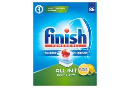 Finish Powerball All-in-1 Dishwasher Tablets (Lemon) Pack of 60 Tablets