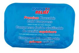 Rapid Aid Rapid Relief (8 x 12 inch) Premium Reusable Cold Compress