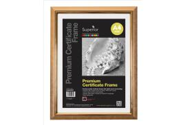 5 Star Facilities Deluxe (A4) Non Glass Certificate Frame (Gold)