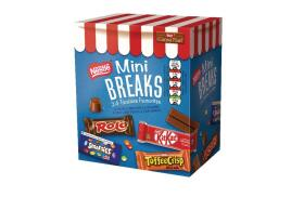 Nestle Mini Breaks 24 Mixed Selection 10 x 416g (Pack of 240)