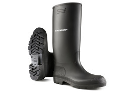 Dunlop Pricemaster (Size 10) Wellington Boots (Black)