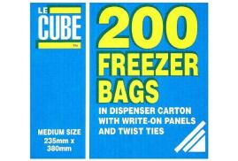 Robinson Young LeCube Food/Freezer Bags Medium (Pack of 200]