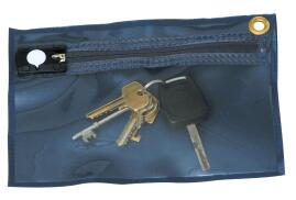 Unbranded Tamper Evident Key Wallet 230x152mm (Blue)