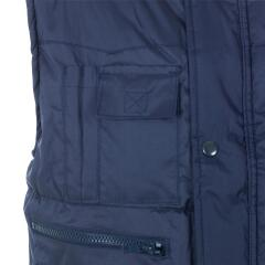 Unbranded Body Warmer (XL) Polyester with Padding and Multi Pockets (Navy) Image