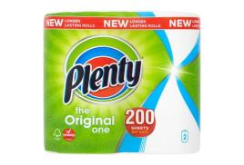 Plenty Double Kitchen Roll (Pack of 2)
