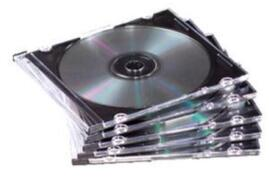 Fellowes Neato Thin CD Jewel Case (1 x Pack of 25 Jewel Cases)