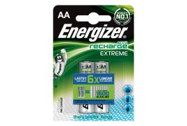 Energizer HR6 2300mAh 1.2V AA Rechargeable NiMH Batteries (Pack 2)