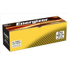 Energizer Industrial Battery D/LR20 Pack of 12 Image