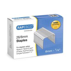 Rapesco 26/6mm Galvanised Staples Image