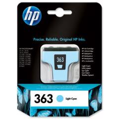 HP 363 (220 Photos) Light Cyan Ink Cartridge Image