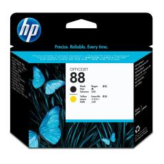 HP 88 (Yield: 41,500 Pages) Black/Yellow Inkjet Printhead Image