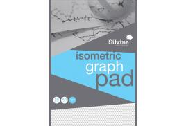 Silvine (A4) Student  Graph Pad 90gsm 5mm Isometric (50 Sheets)