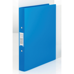 Rexel Budget 2 (A4) Ring Binders 25mm (Blue) - Pack of 10 Ring Binders Image