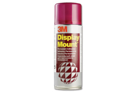 3M DisplayMount (400ml) Adhesive Spray Can Instant Hold CFC-Free